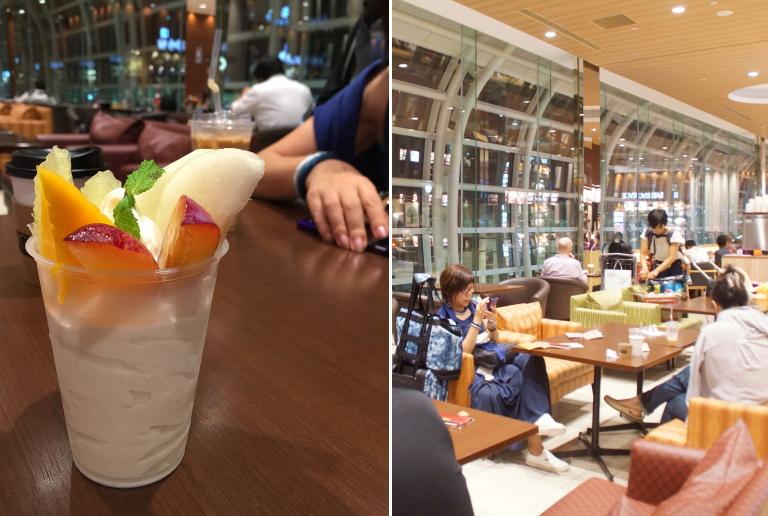 羽田空港 国際線 フードコート ショップ