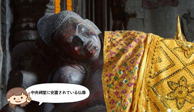 アンコール遺跡 仏像