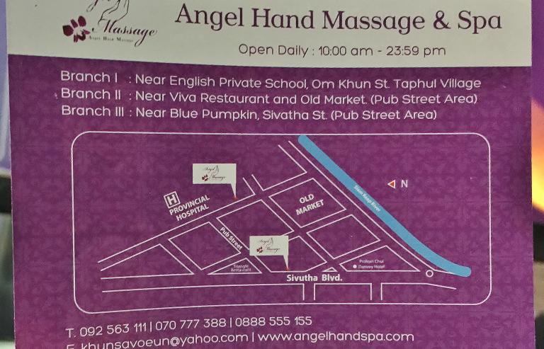 Angel Hand Massage 地図 位置