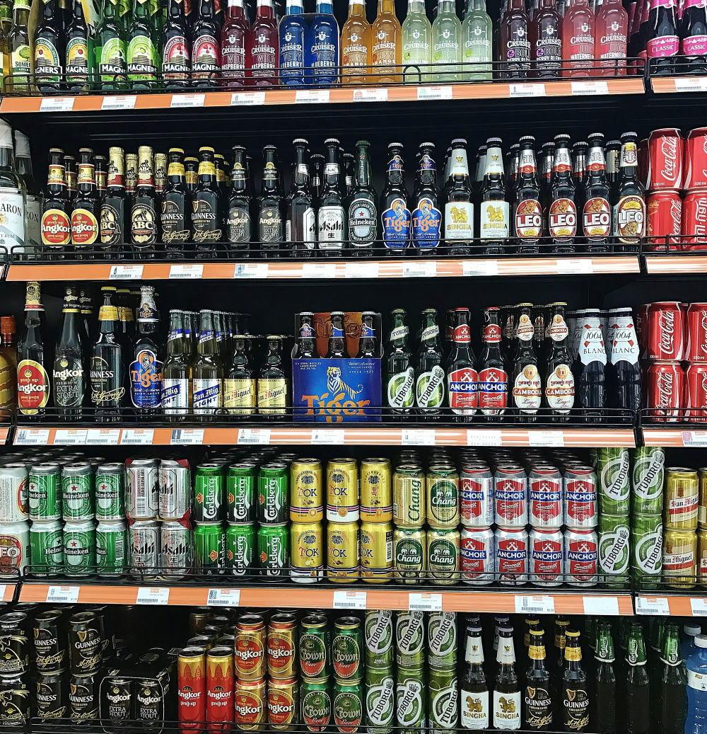 カンボジア人気ビール