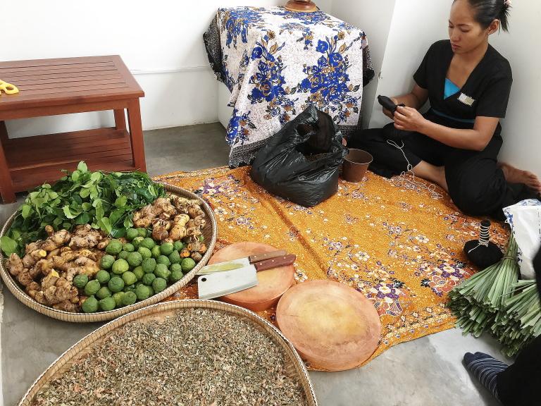 カンボジア ハーブ 種類