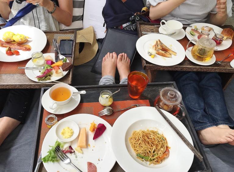 クロヤー 朝食ビュッフェ