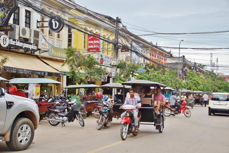 カンボジアの治安