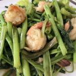 空心菜の炒め物がご飯にあう!おすすめレストランも。