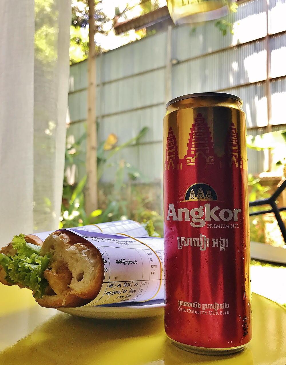 ヌンパン(ノンパン) カンボジア サンドイッチ
