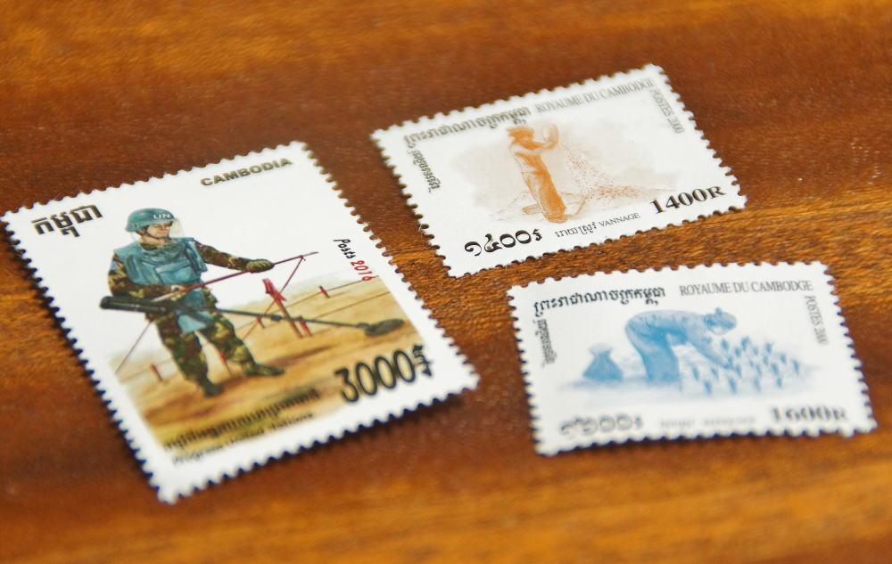 カンボジアの切手