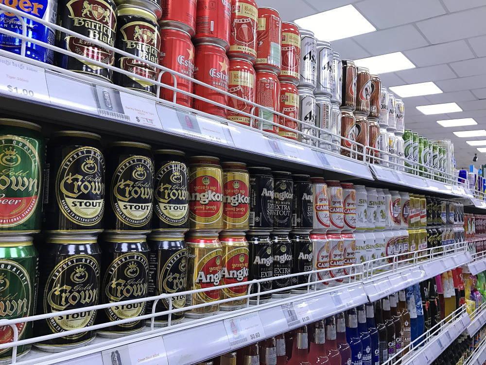 アジアマーケット カンボジアビール