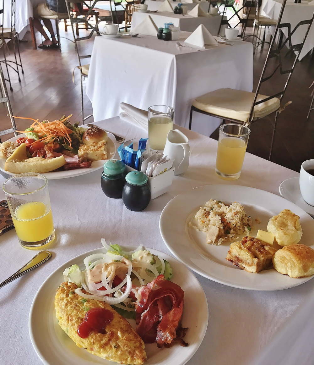 シェムリアップ ナブツドリームス 朝食