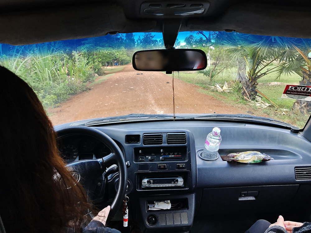 シェムリアップからバコン村へ